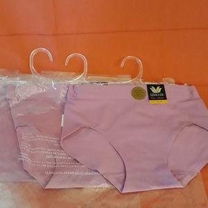 Wacoal Skinsense 3 pair hi-waist sz S lilac